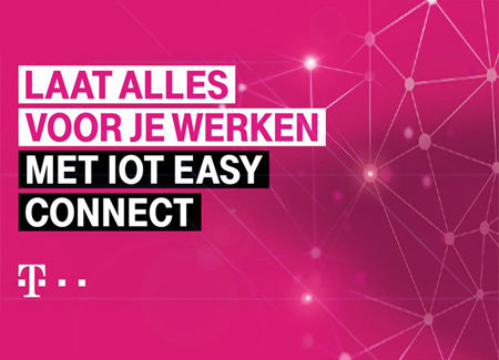 T-Mobile introduceert IoT Easy Connect